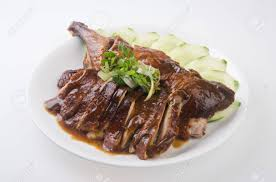 cuisine traditionnelle chinoise rôti de canard canard cuisine traditionnelle chinoise banque d