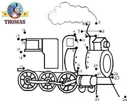thomas train halloween worksheets kids train dot dot