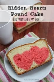 hidden hearts pound cake valentines day recipe
