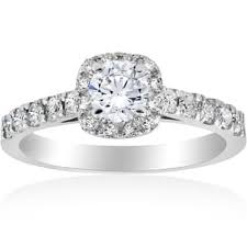 engagement ring with halo halo engagement rings shop the best deals for nov 2017