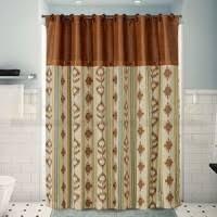 Cowhide Shower Curtain Decorative Shower Curtains In Lodge Decor Themes