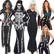 skeleton halloween costume for women compare prices on horror halloween costumes for women online
