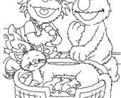 coloring pages grover coloring pages sesame street coloring pages