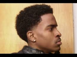 afro hairstyles taper fade taper fade afro haircut youtube