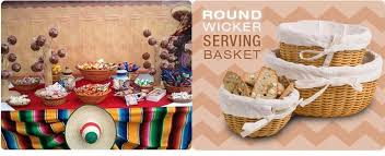Mexican Gift Basket The Best Backyard Entertaining Ideas The Basket Lady