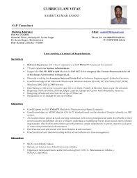sap crm technical consultant resume junior sap consultant resume shalomhouse us