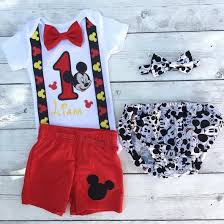 mickey mouse 1st birthday shirt embroidered mickey mouse birthday my three