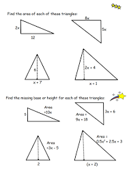 lesson on area of triangles by sophiemccoy teaching resources tes