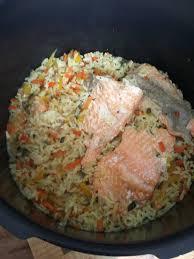 comment cuisiner la truite julienne de légume riz truite saumonee recettes cookeo
