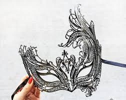 masquerade mask mask wall decor masquerade ball mask black