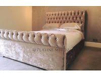 Chesterfield Sleigh Bed Chesterfield Sleigh Bed Double Beds For Sale Gumtree