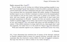 einstein u0027s letter to marie curie ignore the haters biography com