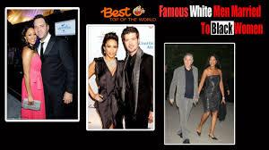 dirk nowitzki wedding photos best top of the world 15 famous white men married to black women