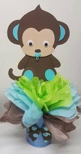 monkey baby shower decorations impressive design monkey centerpieces for baby shower trendy ideas