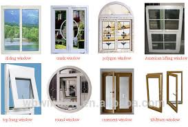 Decorative Windows For Houses Designs Modern House Design Single Sash Plastic Vinyl Casement Windows