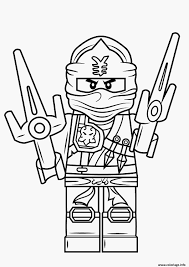 Coloriage De Ninja Of Kai Pinterest  coloriage