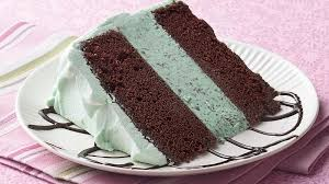 mint chocolate ice cream cake recipe bettycrocker com