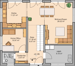 Esszimmer Planung Kern Haus Stadtvilla Signus Grundriss Erdgeschoss Haus Planen
