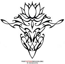 tribal lotus flower 90 lotus flower tattoos mirkamnya info