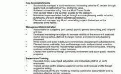 restaurant server resume template professional restaurant server