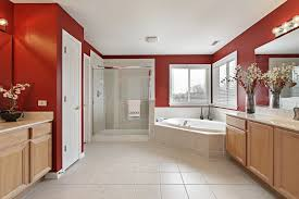 Red Bathroom Cabinets 60 Red Room Design Ideas All Rooms Photo Gallery