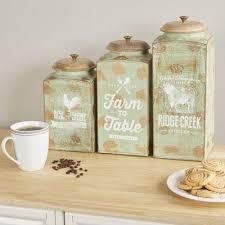 3 kitchen canister set weston 3 kitchen canister set reviews birch