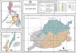 Map Location Location Map Ppdo Bohol