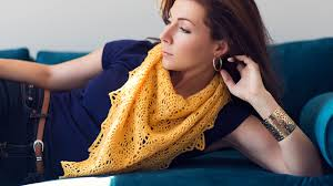 how to block a knitted or crocheted shawl u2013 expression fiber arts