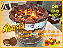 reese s halloween diy peanut butter cup u0026 reese u0027s pieces trifle easy recipe to do