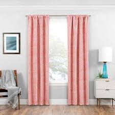 Pink And Orange Curtains Pink Curtains Drapes Window Treatments The Home Depot