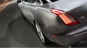 jaguar back jaguar xj back light pose wallpaper