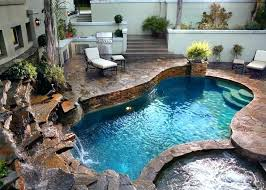 small backyard inground pool ideas stunning swimming designs