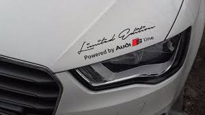 category audi decals stickers