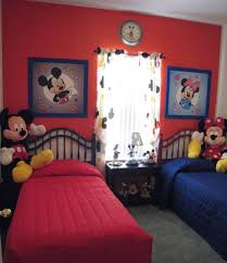 Minnie Mouse Bed Frame Mickey And Minnie Mouse Bedroom Set For Kids Boy And Double
