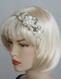 vintage bridal hair bridal headband wedding hair accesories flower vintage