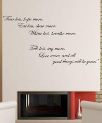 vinyl wall decal sticker inspirational quote