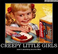Creepy Girl Meme - creepy little girls joke overflow joke archive