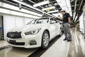 infiniti starts production of facelifted 2018 q50 sedan in japan
