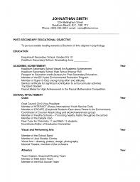 Extra Curricular Activities In Resume Examples by Download Resume For Scholarship Haadyaooverbayresort Com