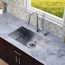 Vigo Kitchen Sink Vigo All In One 32 Ludlow Stainless Steel Undermount Kitchen Sink