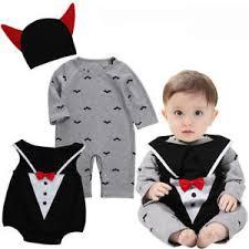 Baby Boy Halloween Costumes Uk 3pcs Baby Boys Halloween Vampire Costume Romper Jumpsuit Infant