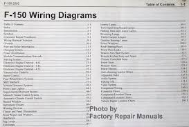 2005 ford f150 truck electrical wiring diagram electrical