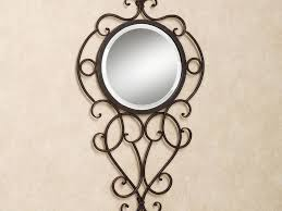the best wrought iron bathroom mirrors