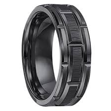 black wedding bands for him and 1 men s wedding bands tungsten titanium wedding rings
