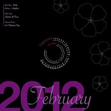 Flowers For Each Month - 2012 calendar u2014 laura walter