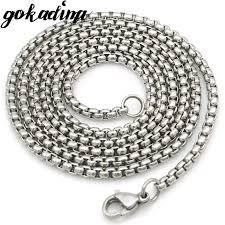 aliexpress buy gokadima 2017 new arrivals jewellery gokadima women stainless steel chain men necklace jewelry