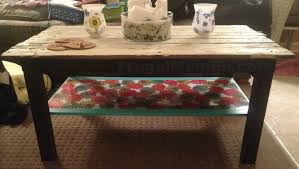Diy Wood Coffee Table by Diy Wooden Pallet Inspired Coffee Table Frugal Mom Eh