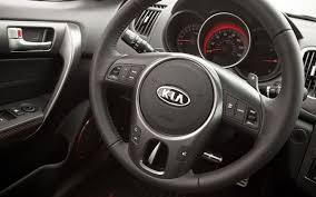 kia steering wheel 2011 kia forte koup sx editors u0027 notebook automobile magazine