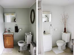 Before After Bathroom Makeovers - apartment bathroom makeover the merrythought