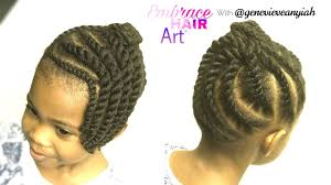 Chunky Flat Twist Hairstyles by Natural Hair Kids Easy Two Strand Flat Twist Updo Youtube